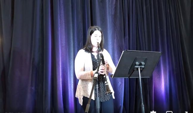 Explore: la clarinettiste Julie Lambert