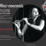Mini-concerts Explore Verdun IDS – Vanessa Ascher, Flûtiste