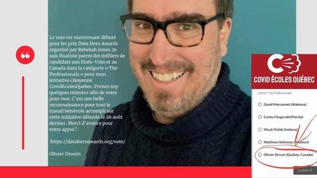 Data Hero Awards: le 1er prix à Olivier Drouin