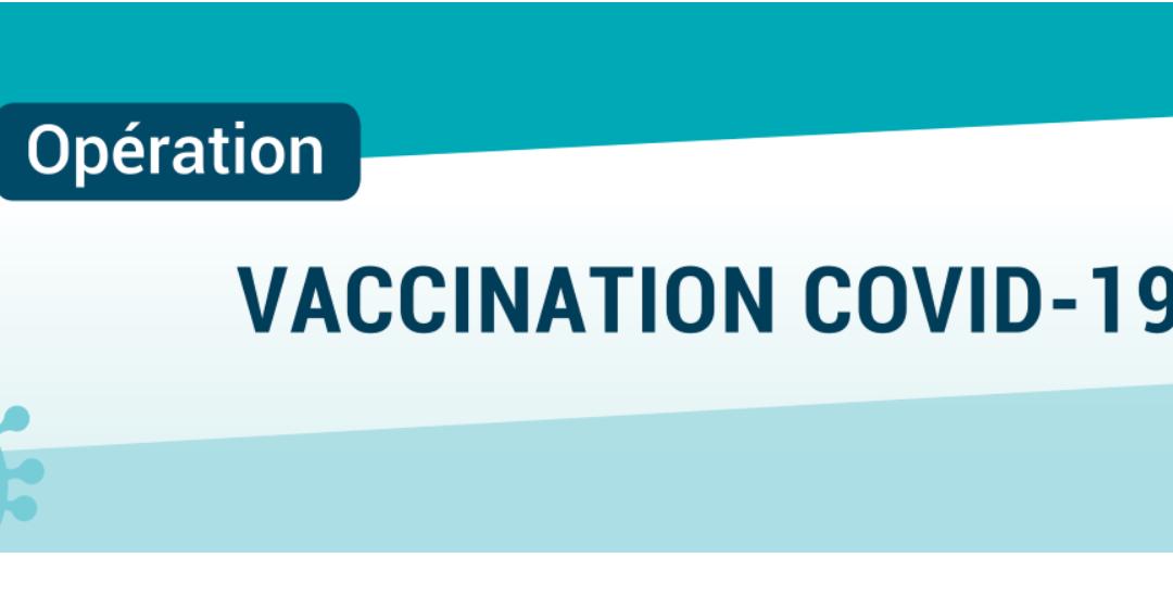 COVID-19: élargissement de la vaccination…
