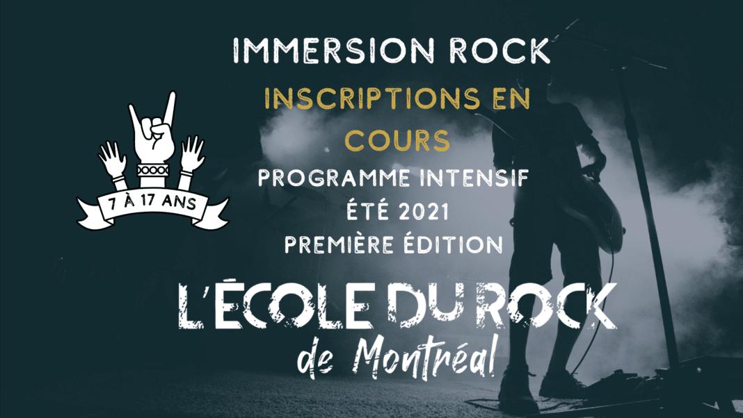 Immersion Rock - École du Rock Montréal - ExploreVerdunIDS